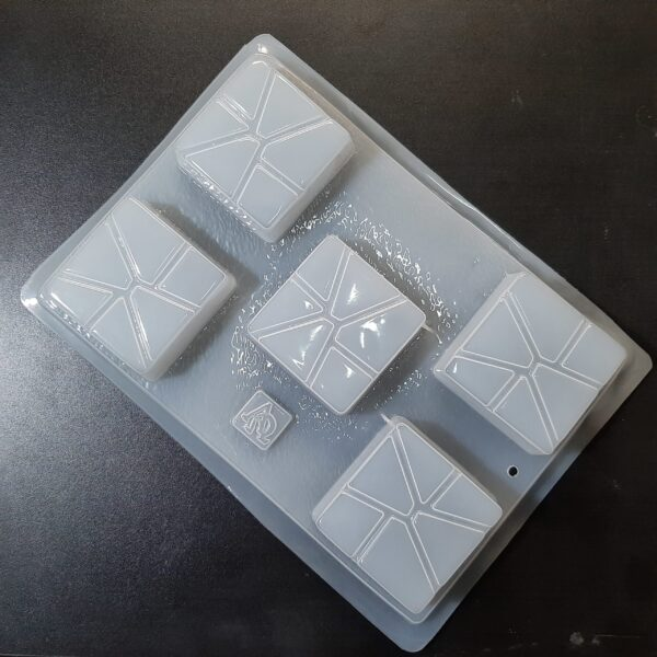 Molde Mosaico Cuadrado-Practimolds
