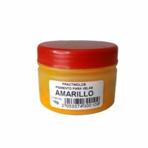 Pigmento para Parafina Amarillo 10 Gr