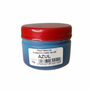 Pigmento para Parafina Azul 10 Gr