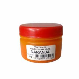 Pigmento para Velas Naranja 10Gr