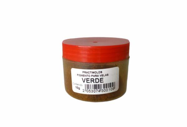 Pigmento para Parafina Verde 10 Gr