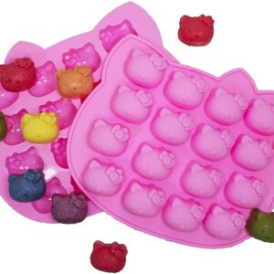 Molde Carita Hello Kitty 16 Cavidades