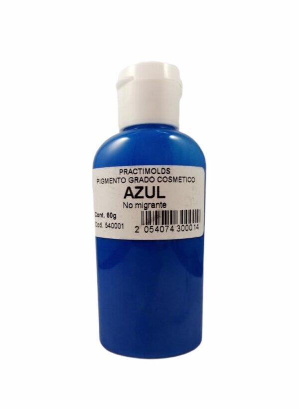 Pigmento Grado Cosmético Azul 60ml-practimolds