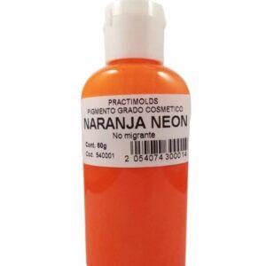 Pigmento Grado Cosmético Naranja Neón 60ml-practimolds