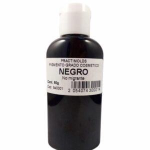 Pigmento Grado Cosmético Negro 60ml-practimolds