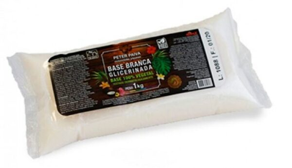 Base Glicerina Vegana Blanca Peter Paiva 1kg