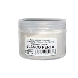 Pigmento Perlado en Polvo 30 gr Blanco Perla