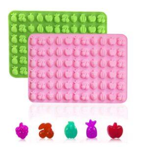 Molde Silicona Mini Frutas