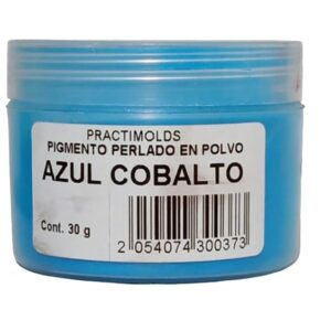Pigmento Perlado en Polvo 30 gr Azul Cobalto
