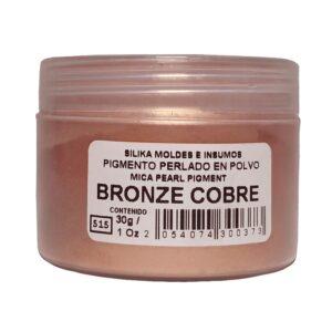 Pigmento Perlado en Polvo 30 gr Bronze Cobre