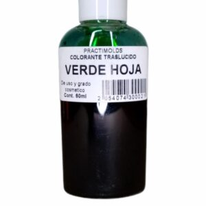 Colorante Traslucido Verde Hoja 60ml-practimolds