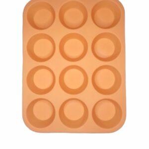 Molde Cupcake liso x12-practimolds1